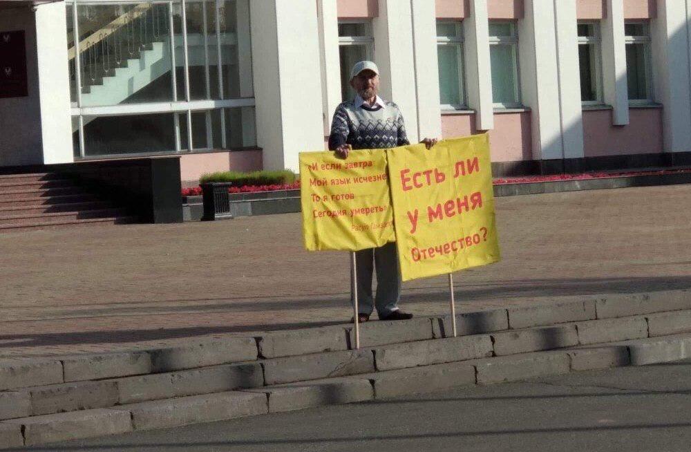 Udmurdi keele hävimise vastu protestija põletas end vabariigi parlamendi juures surnuks