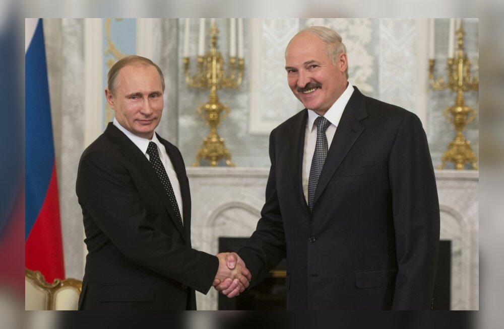 Vladimir Putin, Aleksander Lukašenko