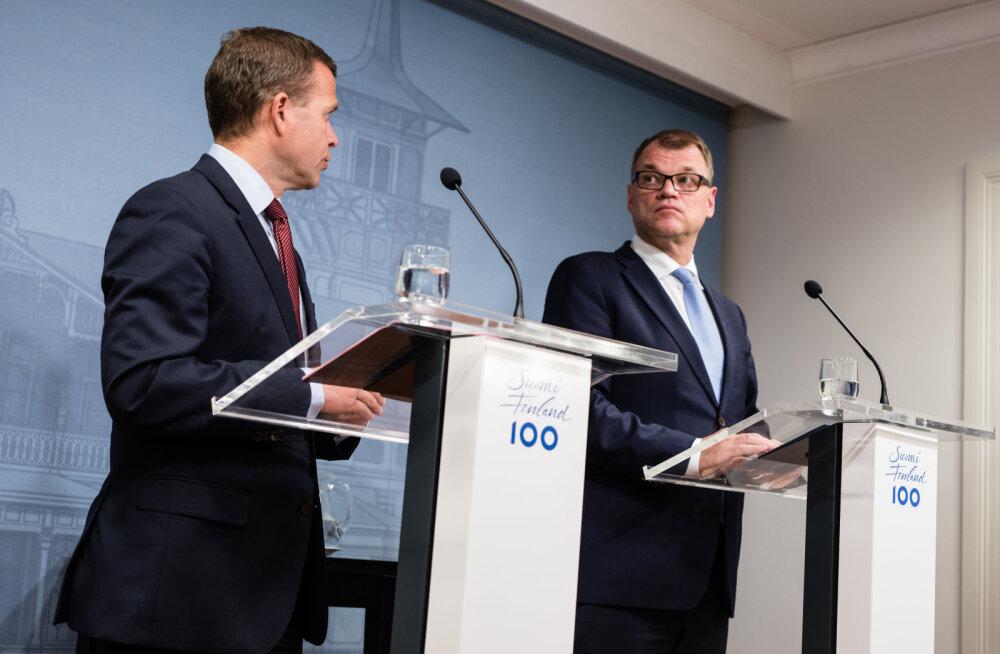Soome valitsuskriisi venimine ähvardab majanduse taas allavett saata