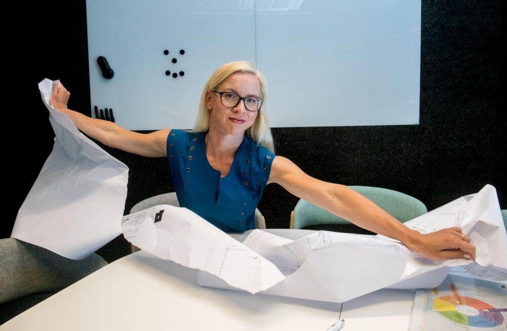 Digitaalehituse klastri juhatuse liikme Merylin Rüütli sõnul tehakse ehitussektoris endiselt suur osa tööd paberil.
