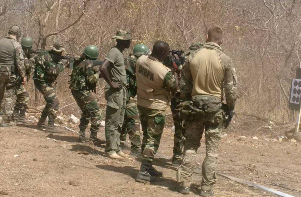 FOTO: Eesti kaitseväe eriüksus käis Senegalis