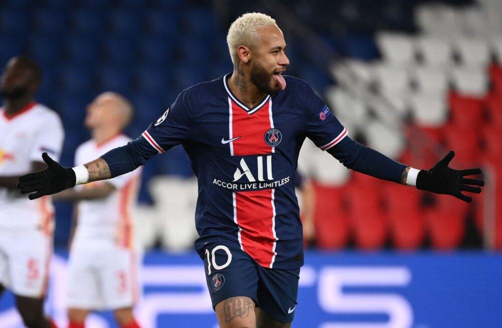 Pariisi Saint-Germaini ründaja Neymar