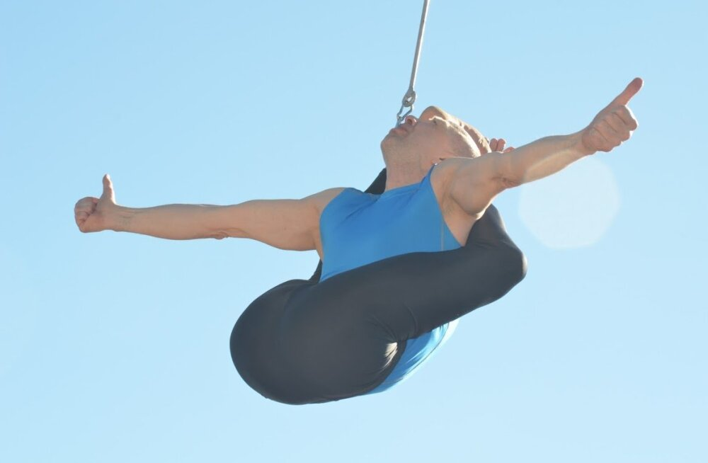 USKUMATU! Staarakrobaat Vello Vaher purustas oma eelmise maailmarekordi mitmekordselt