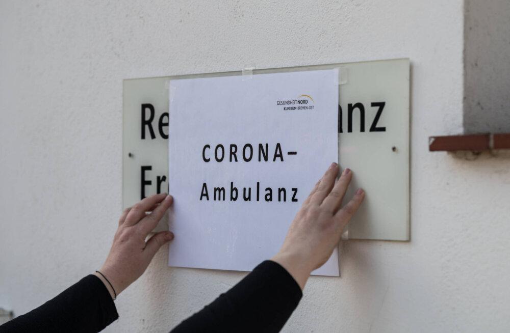 Saksa viroloog rääkis koroonaviiruse uute sümptomite avastamisest