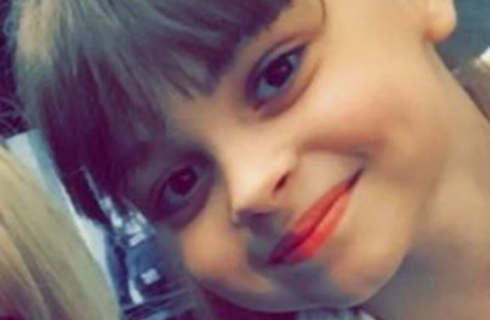 Manchester Arenal toimunud plahvatuse teadaolevalt noorim ohver on 8-aastane tüdruk