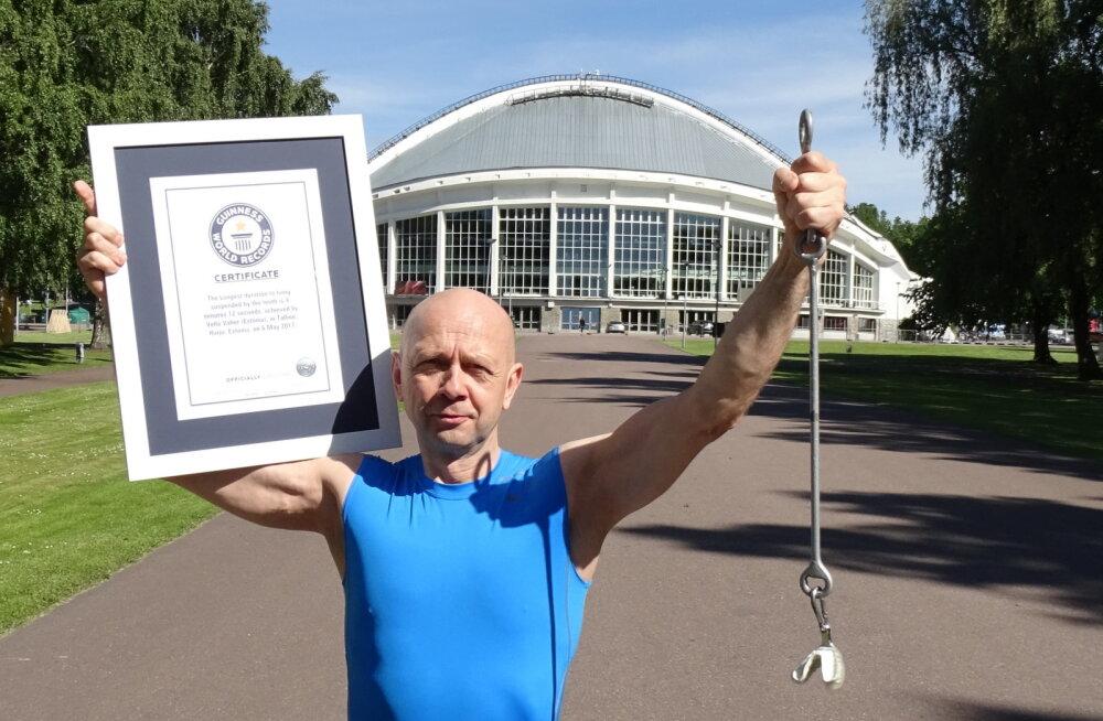 ASI AMETLIK: Guinness World Records kinnitas ametlikult Vello Vaheri rekordi