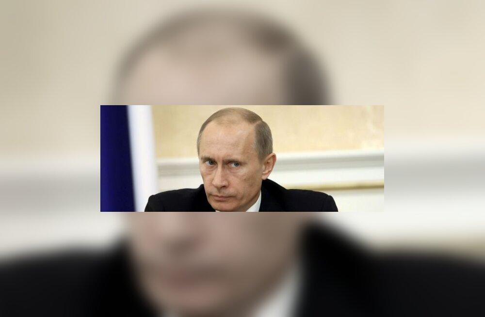 Putin kunstnikule: mõõk liiga lühike, nagu taskunuga