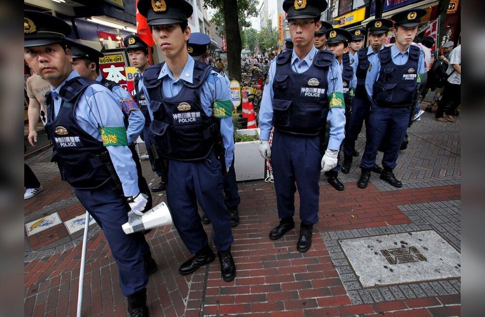 Jaapanis vahistati riigi tähtsuselt teine <em>yakuza</em>