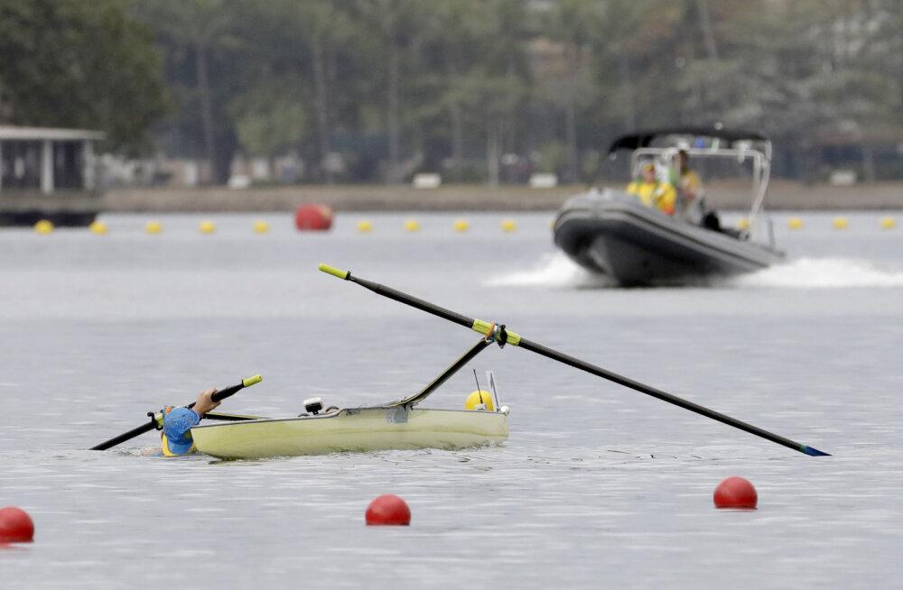 Valgevene parasõudja uppus maailmameistrivõistluste treeningul
