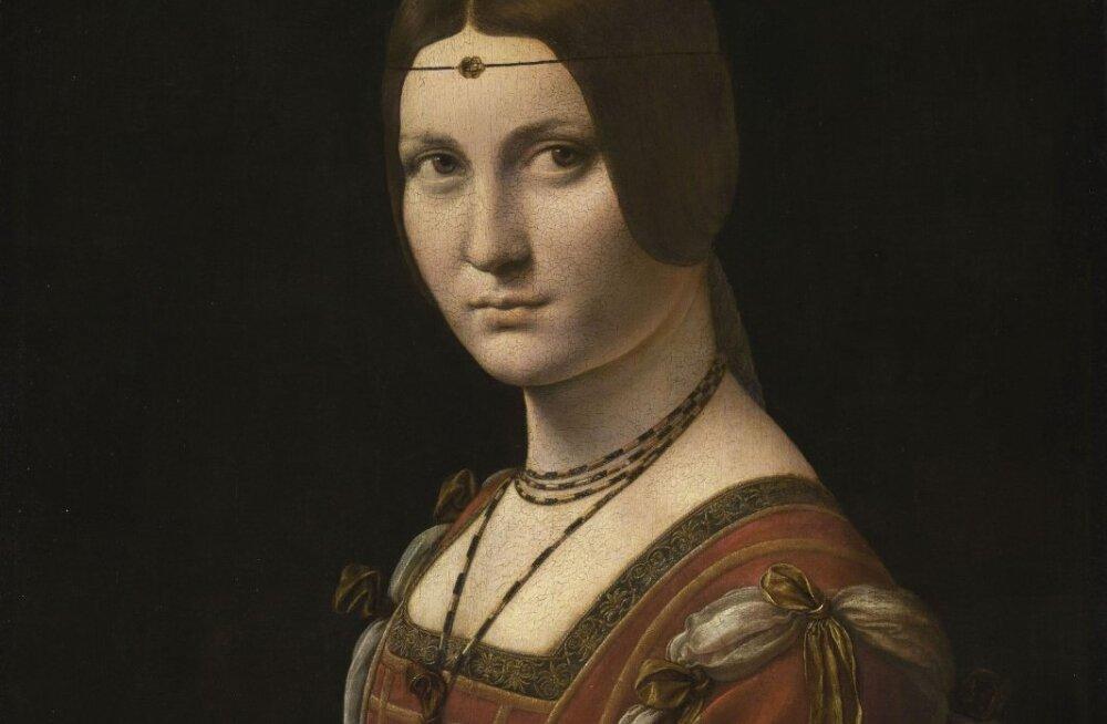 Veeda öö Louvre`is Leonardo da Vinci kunsti nautides