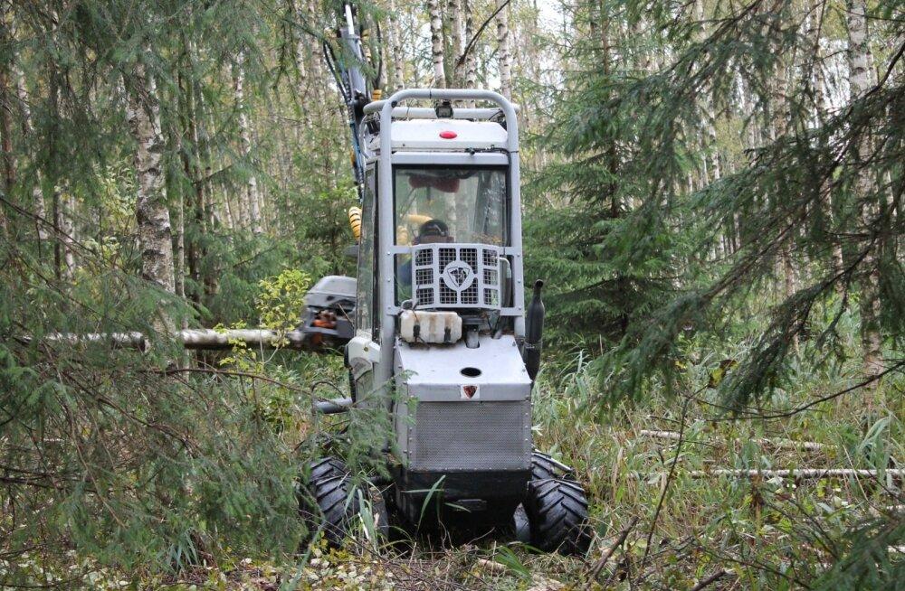 Usewoodi harvester peaks olema maailma kõige väiksem langetustraktor.