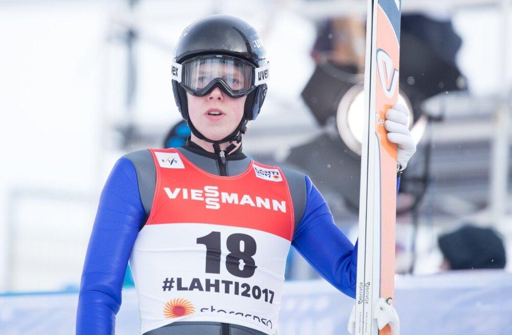 Suusahüpete kvalifikatsioon Lahti MM