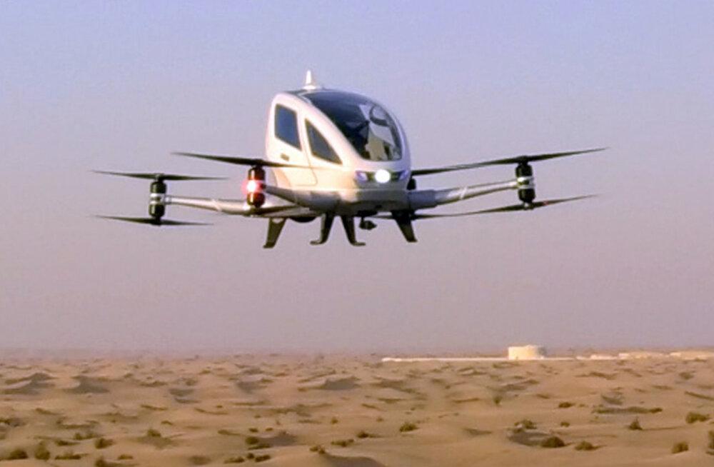 Навстречу будущему: Пассажирские дроны будут перевозить людей в Дубае
