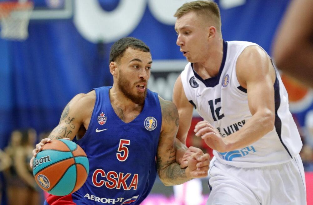 Klubi rekordi püstitanud CSKA naases VTB-s võidusoonele