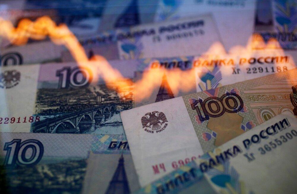 Mis toimub vene rublaga? Analüütikud on tõsises hädas