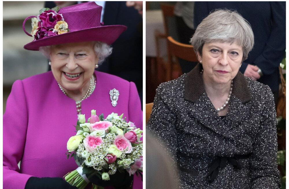 Daily Mail: Venemaa väidab, et kuninganna Elizabeth II trimpab pidevalt kokteile ning Theresa May hobiks on konjaki joomine
