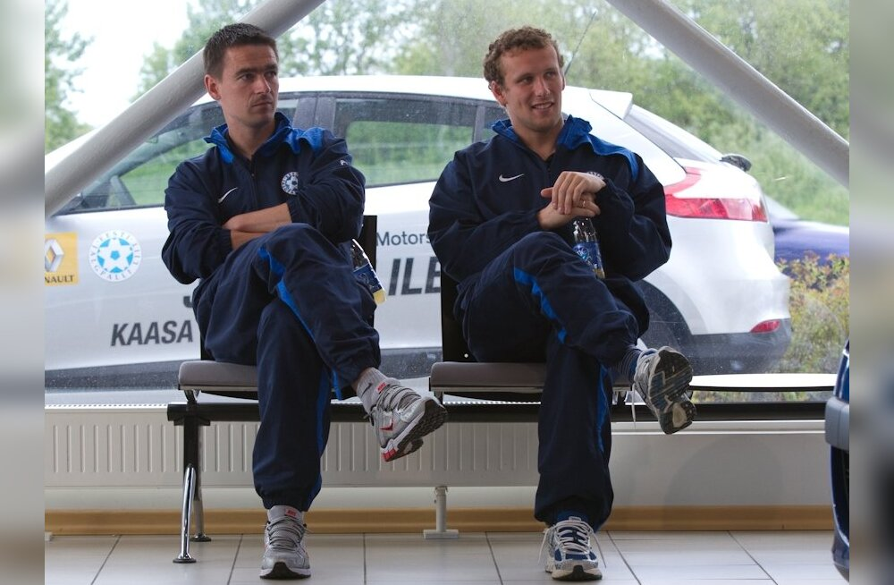 Stepanov: Jalgpallurid on Eestis hetkel kõige populaarsemad inimesed