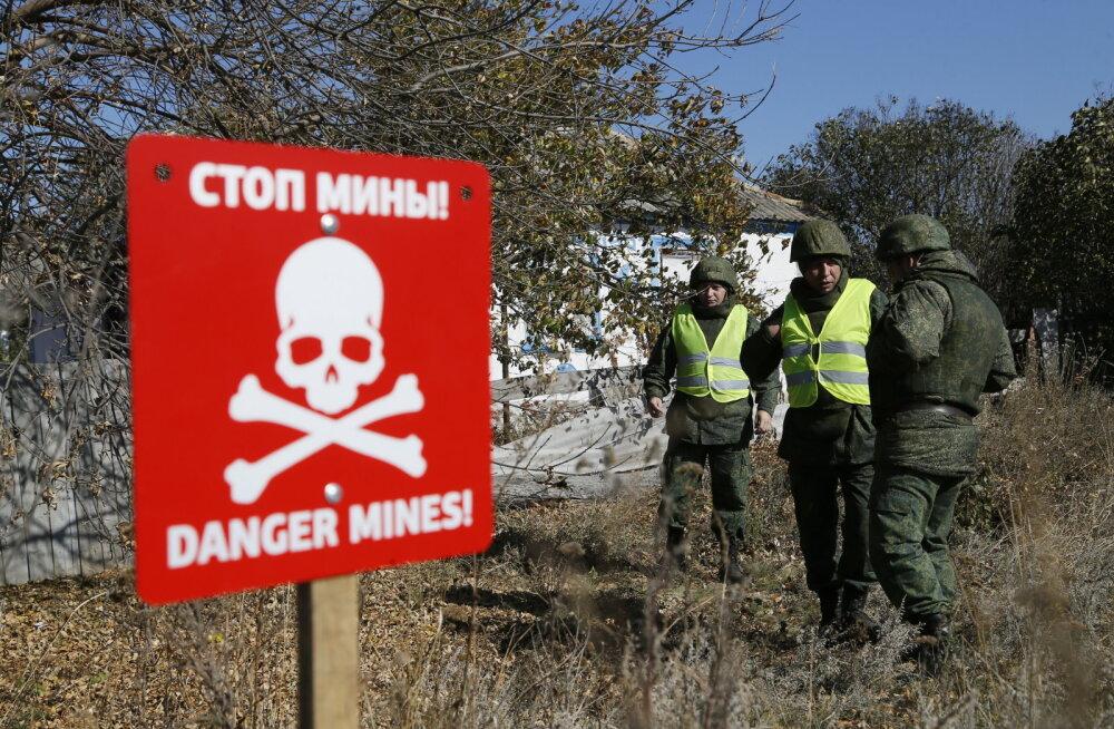 Ukraina Luganski oblastis tõmbasid vaenupooled väed Zolote juures tagasi