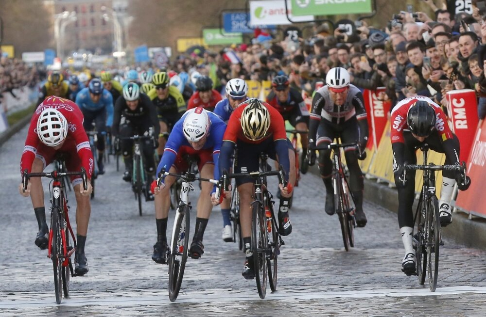 Paris-Nice velotuuri esimese etapi ülitihe finiš