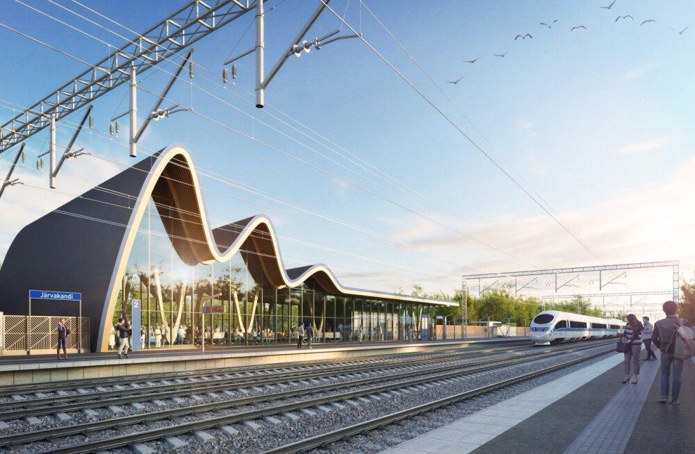 Rail Balticu uus eskiis