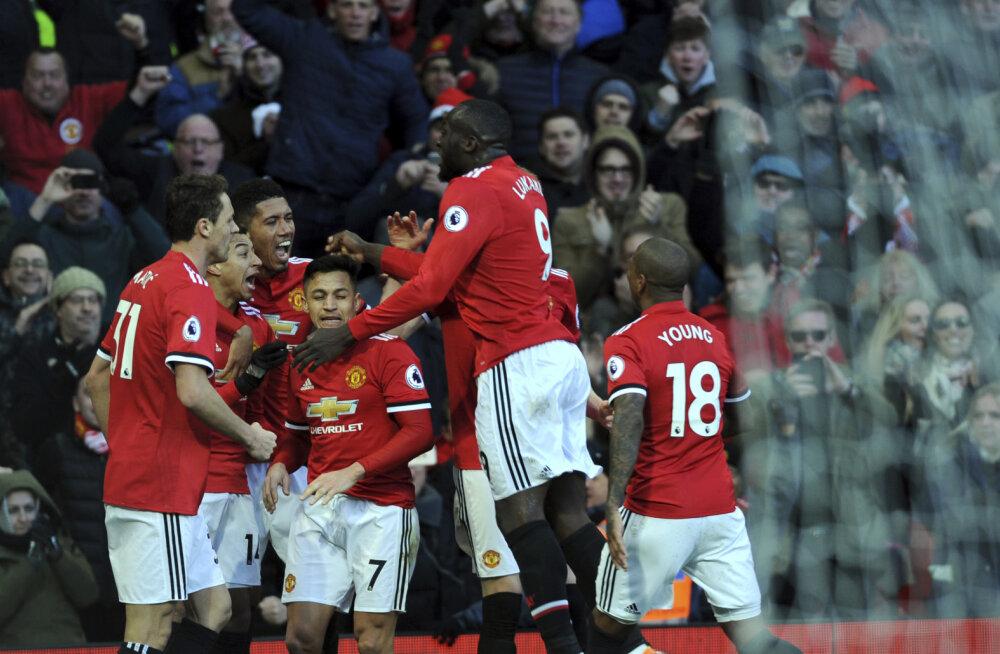 Manchester United võttis Liverpoolilt teise koha tagasi