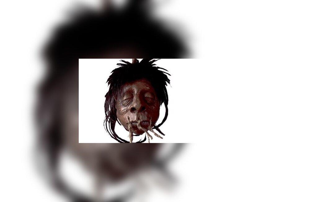 Indiaanlased tegid vaenlaste peadest trofeesid