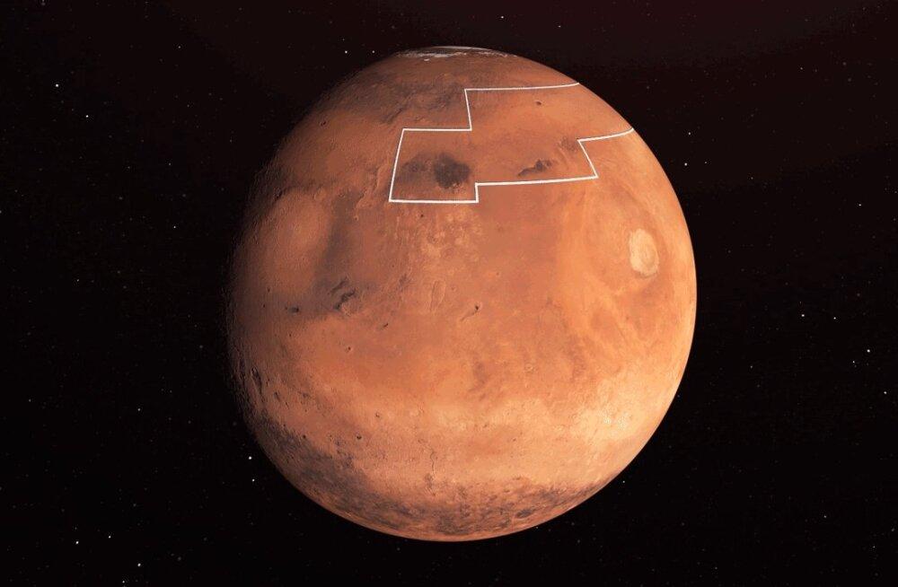 Põhjalik kaardistamine: Marsil on kasutatavat vett hulgi