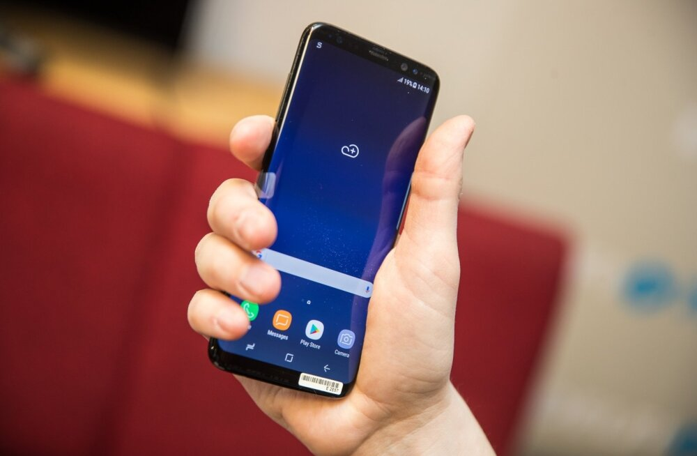 Uusi kasutusvõimalusi sellele ebavajalikule nupule Samsungi uue tipptelefoni Galaxy S8 küljes