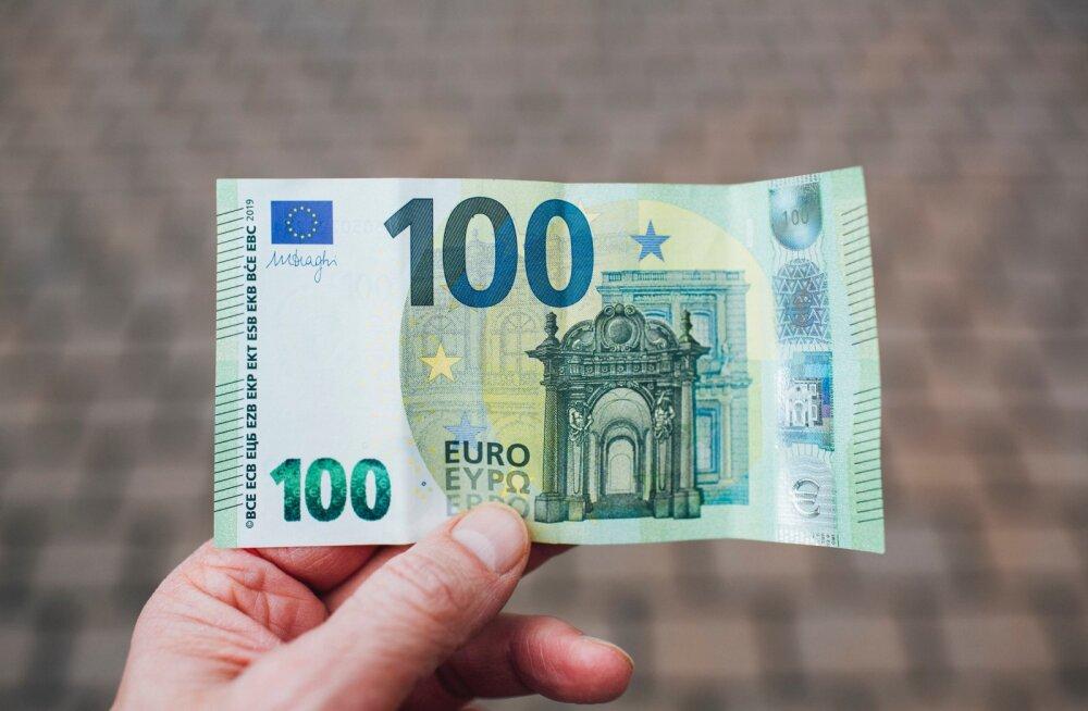 В прошлом году средняя зарплата значительно выросла и перевалила за 1400 евро