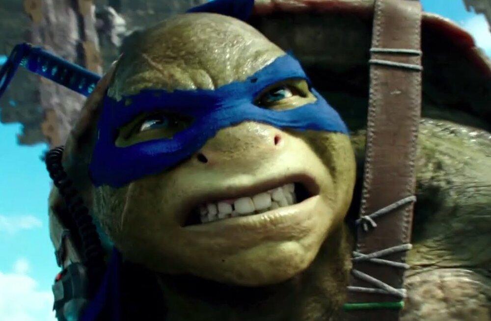TREILER: Teismelised ninjakilpkonnad jõuavad suvel jälle kinodesse