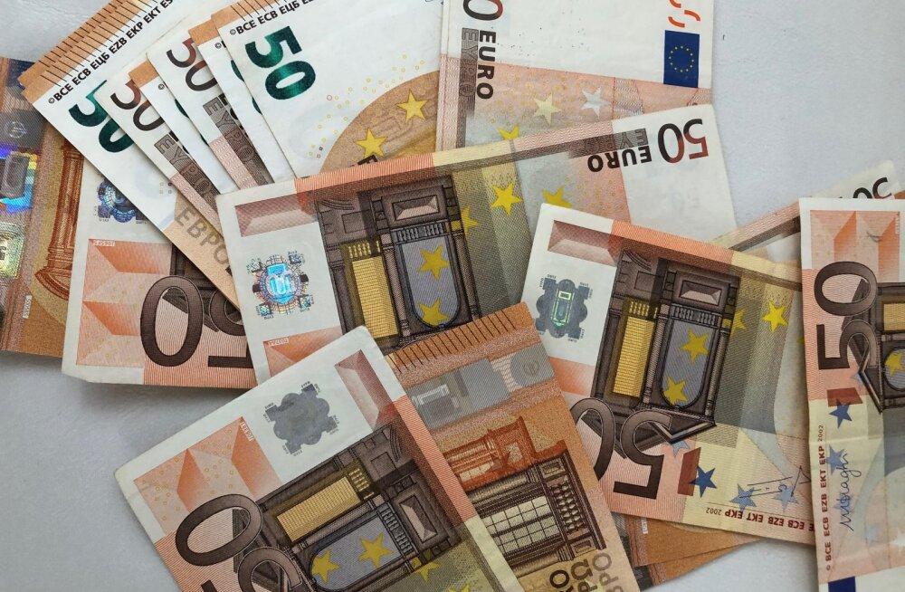 Sularahaautomaat tegi 500 euro väljastamisel vea ja raha tagasisaamine võib aega võtta kuni kaks kuud