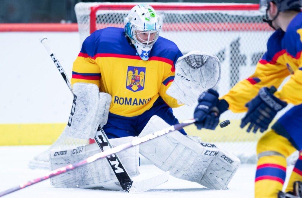 Jäähoki eesti vs Rumeenia