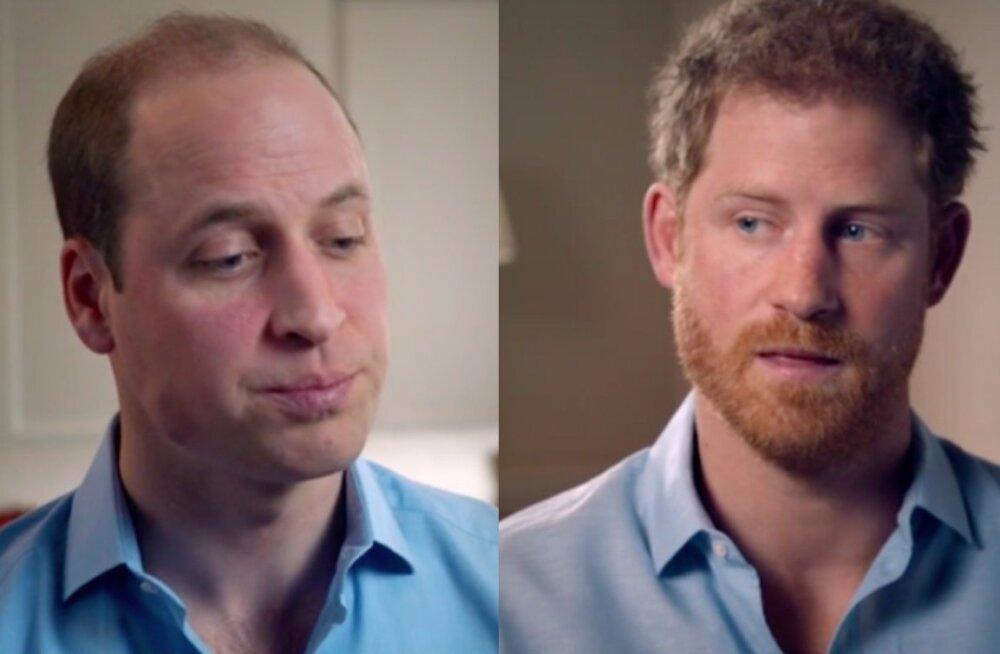 Harry ja William rääkisid esmakordselt avameelselt printsess Diana surmast: inimesed krahmasid meid ja tirisid meid enda embusesse, need hetked olid üpris šokeerivad