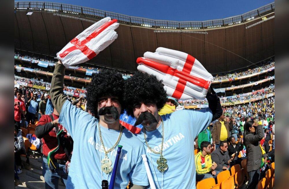 Inglismaa fännid, Jalgpalli MMil