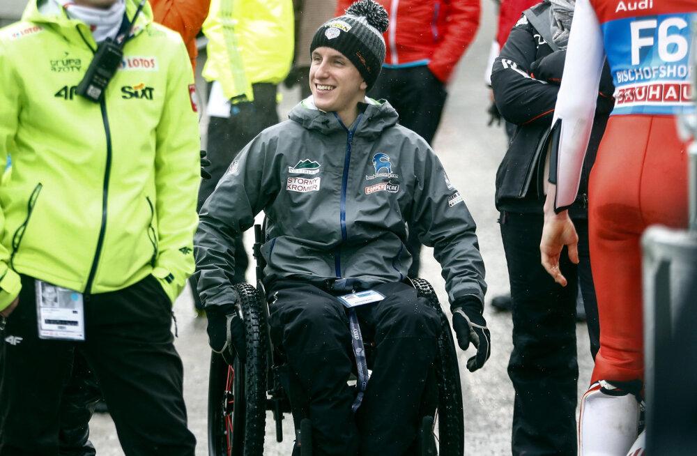 Nelja hüppemäe turneel halvatuks jäänud USA suusahüppaja naasis õnnetuspaika