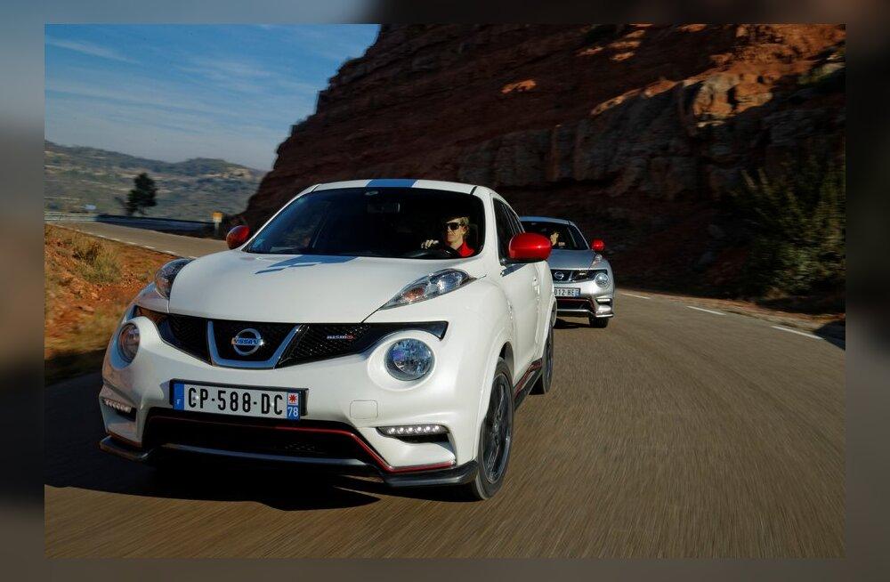 Nissan Juke Nismo: võimas auto, riietatuna superkangelase kostüümi
