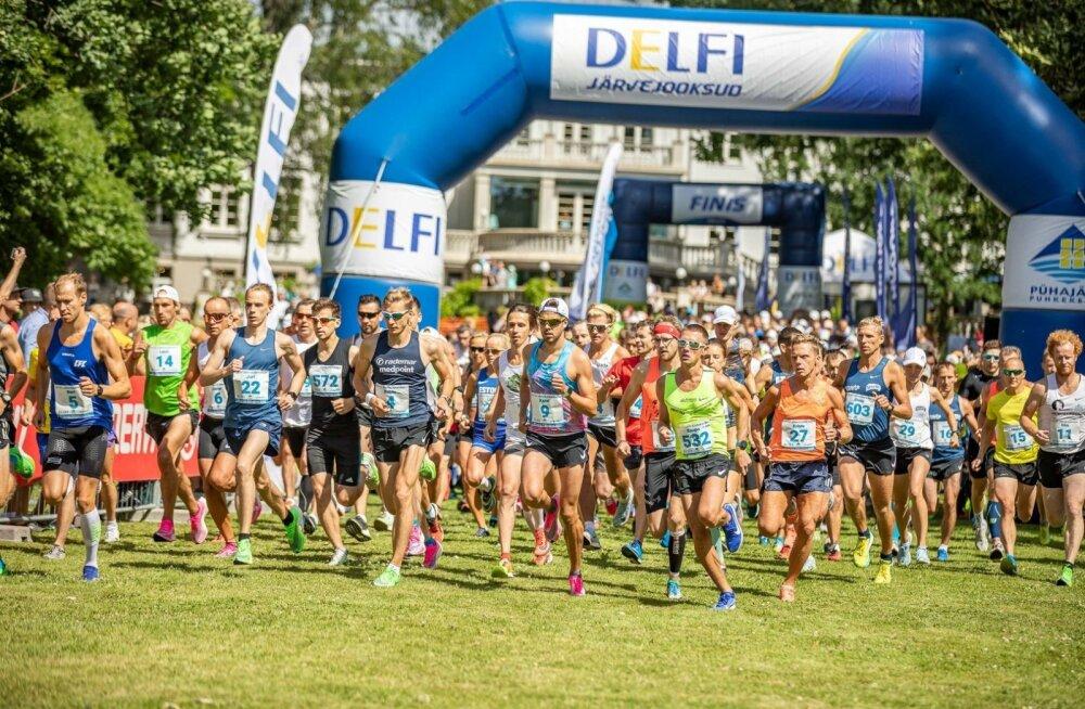 39.jooksu ümber Pühajärve võitsid Juri Kovaljov ja Jekaterina Patjuk