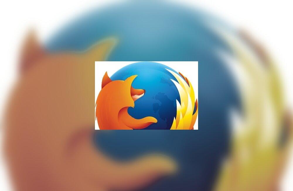 Firefox on nüüd popim brauser kui Internet Explorer ja Edge kokku