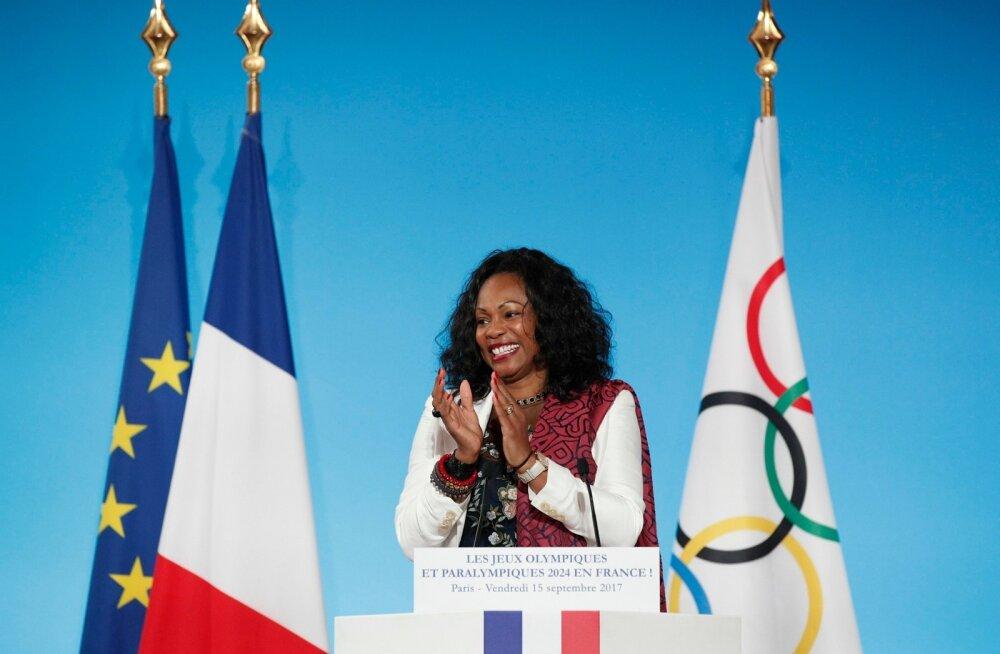 Prantsusmaa spordiminister Laura Flessel.