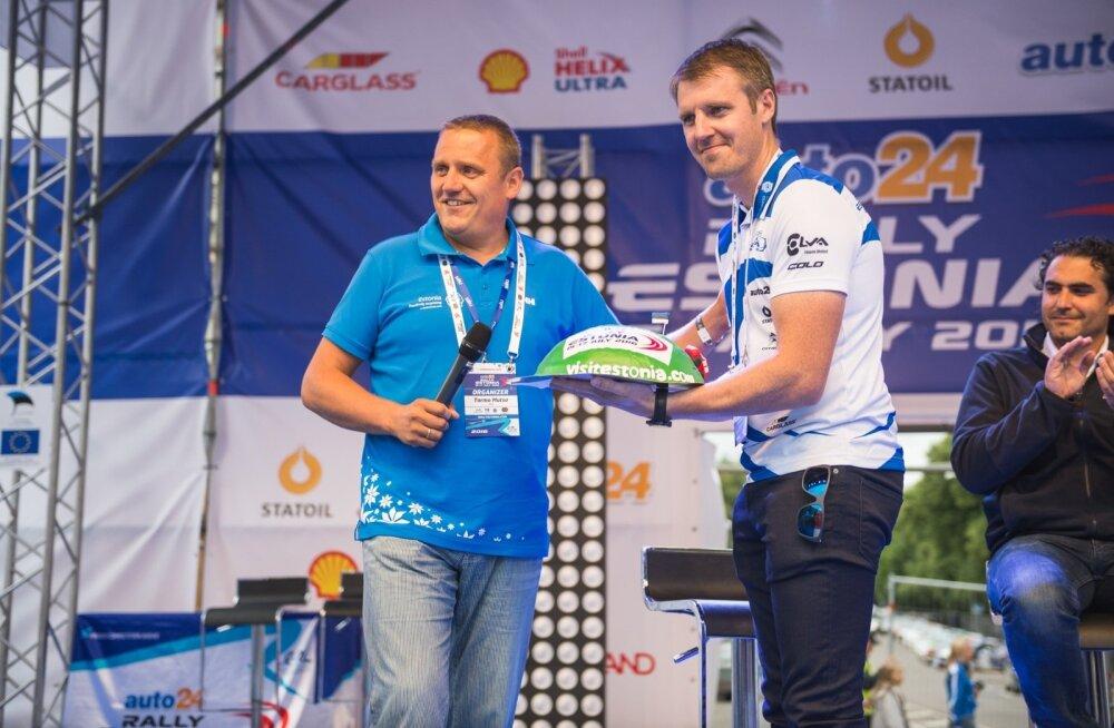 Rally Estonia avamine ja esimene linnakatse
