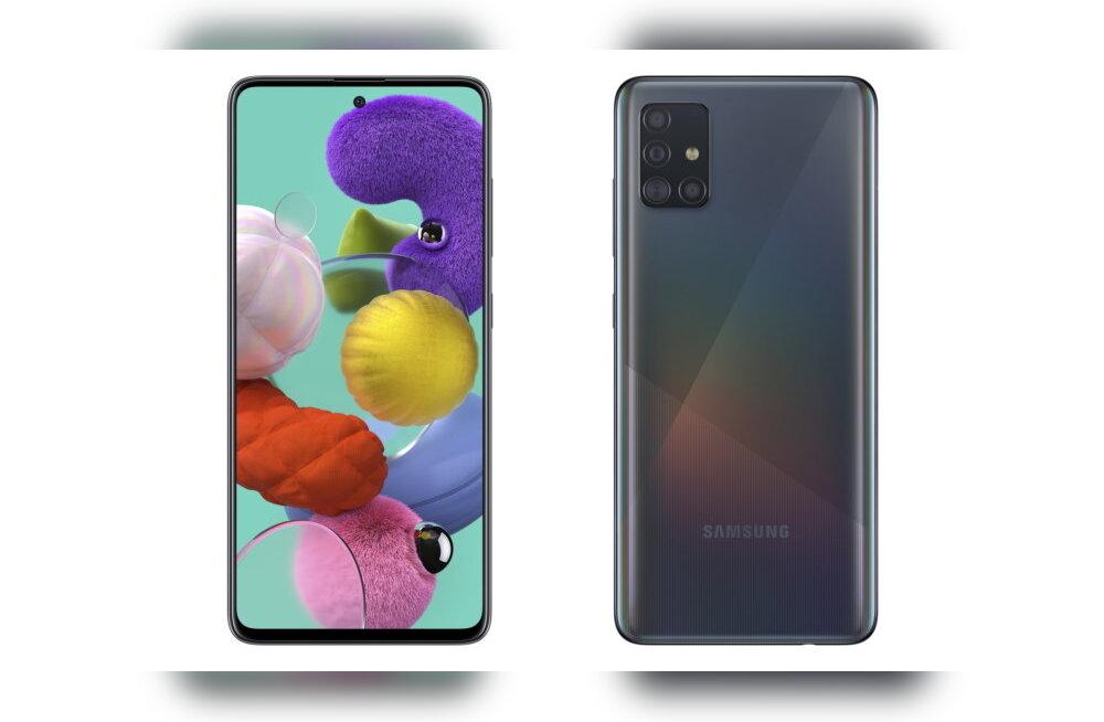 A71 ja A51: Samsung alustab aastat päris isuäratavate telefonidega