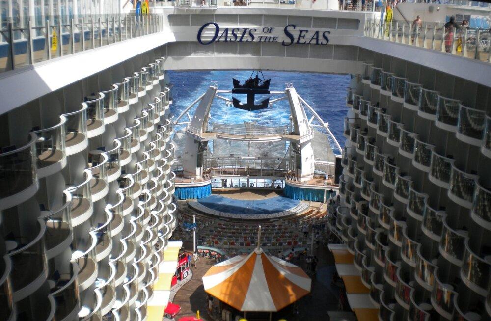 Reisikiri: maailma suurima kruiisilaevaga Vahemerel
