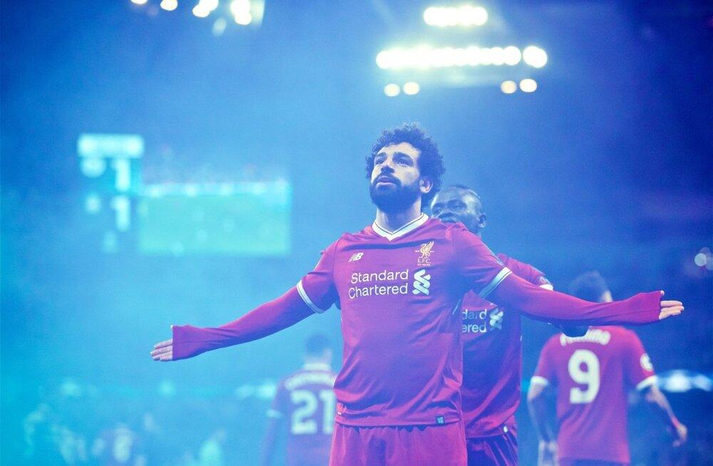 Väravamasin Mo Salah.