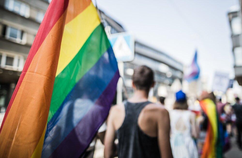 LGBT+ rongkäik Tallinnas 27.06.2020