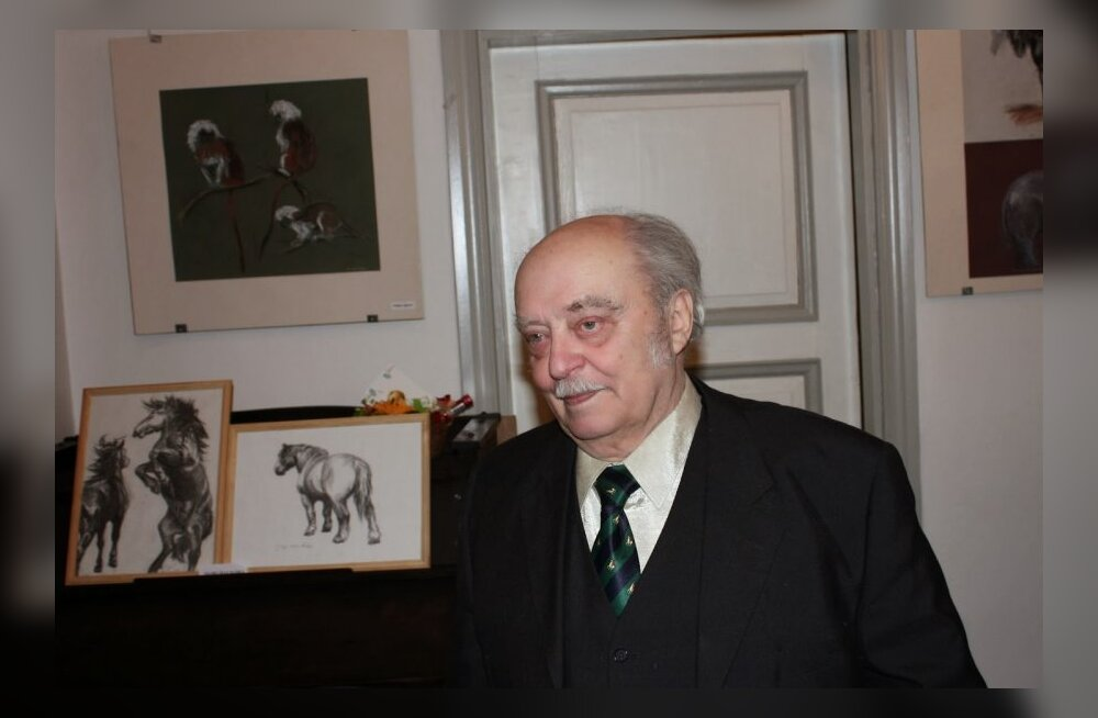 Sándor Stern 90 - mees, kes armastab joonistada loomi