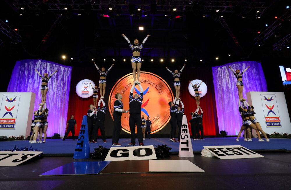 FOTOD JA VIDEO | TalTehi Cheerleaderid saavutasid USA-s toimunud MM-il vinge kavaga kõrge koha
