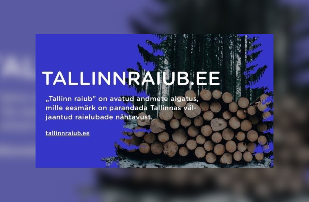 Hõberemmelga-jant viis progeja selleni, et ta avaldas Tallinna raieload eraldi veebilehel