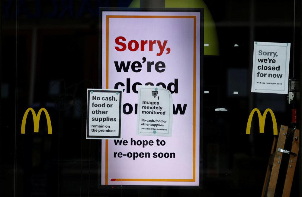 Koroonapiirangud panevad USA-s relva haarama: Oklahoma Citys tulistati kaht McDonald'si töötajat