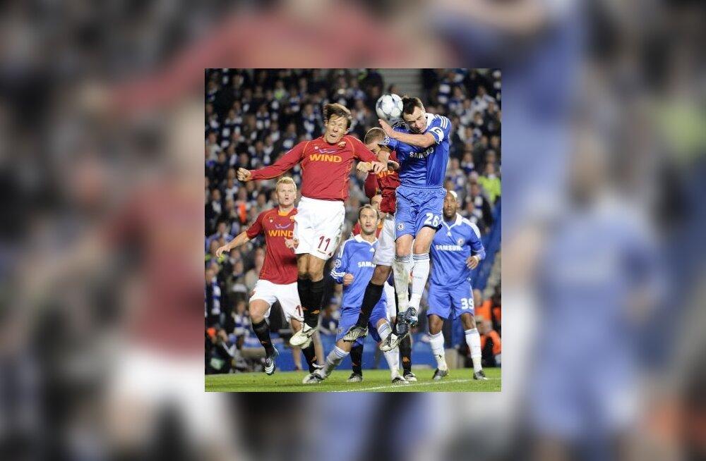 John Terry (Chelsea) lööb värava