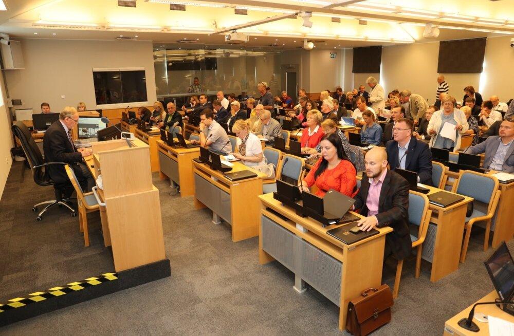 Tallinna linnavolikogu valib esindajad presidendi valimiskogusse